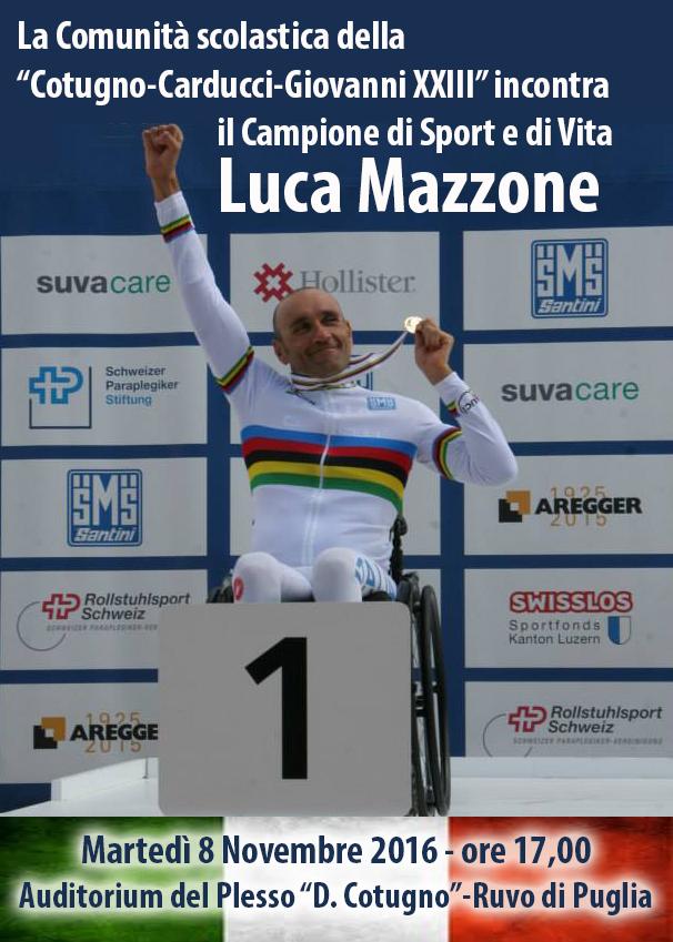 Incontro con Luca Mazzone
